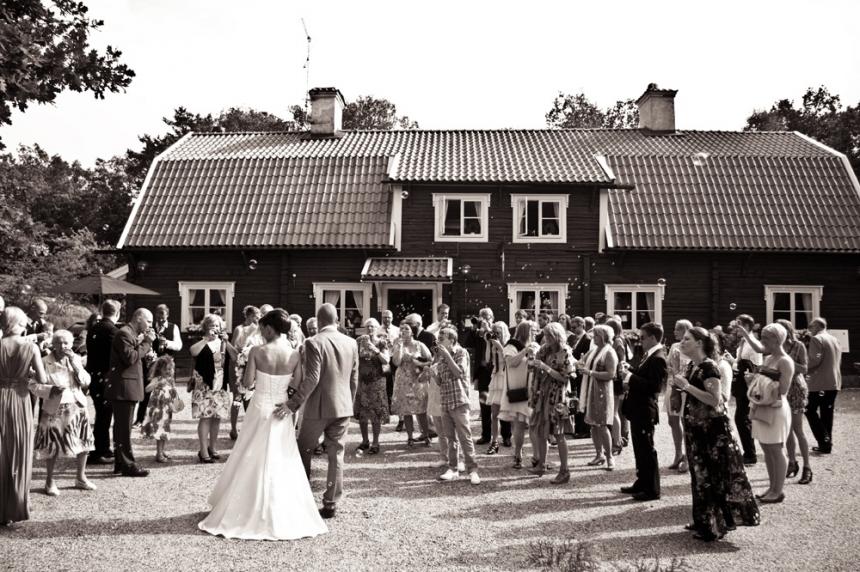 Bröllop gäster